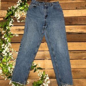 Vintage Women's Levi's 551 High Waist Mom Jeans